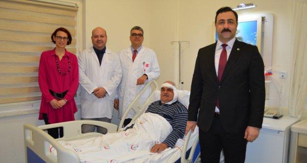 ALKÜ EAH'nde bu ameliyat ilk kez yapıldı