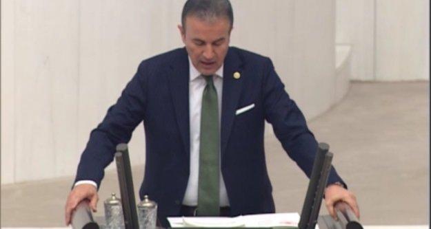 Başkan, Antalya'nın sorunlarını TBMM'nde dile getirdi