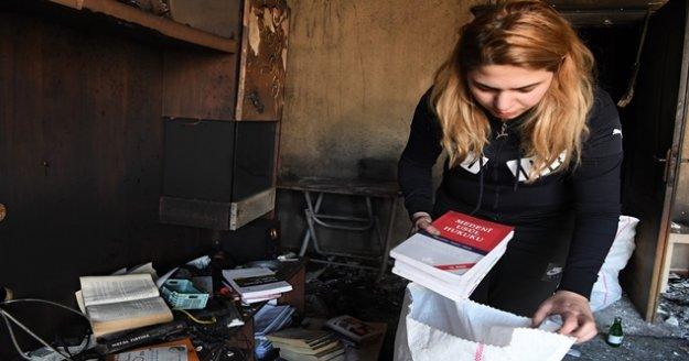 Evi yanan stajyer avukata yardım eli uzandı