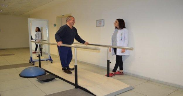 Fizik tedavi ünitesinde yeni dönem