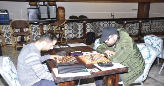 Görme engelliler satrançta yarıştı