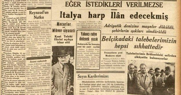 Tozlu gazete sayfaları erişime açıldı
