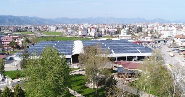 Ürettikleri enerjiden 1 milyon 179 bin lira gelir elde etti