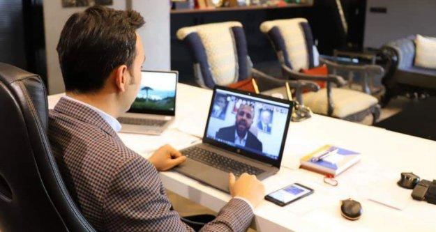 AK Parti'den telekonferans toplantı