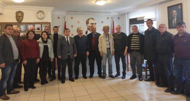 Alanya CHP, Akaydın'ı ağırladı