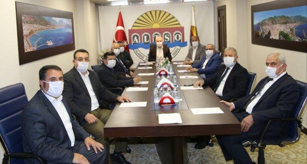 Alanyalı oda başkanlarından korona deklerasyonu