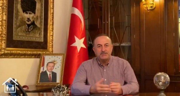 Bakan Çavuşoğlu'ndan yurt dışındaki Türklere çağrı