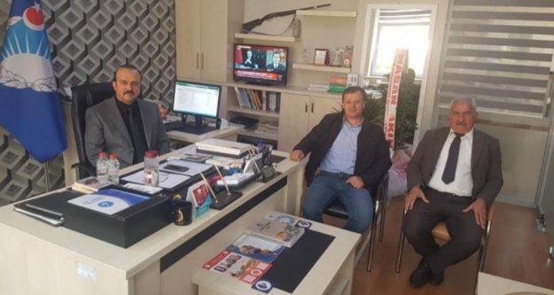 Başkan Yiğit'ten Uzunsakal'a 'Hayırlı Olsun' ziyareti