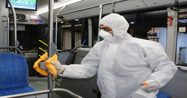 Büyükşehir, korona virüs önleme çalışmalarını yoğunlaştırdı