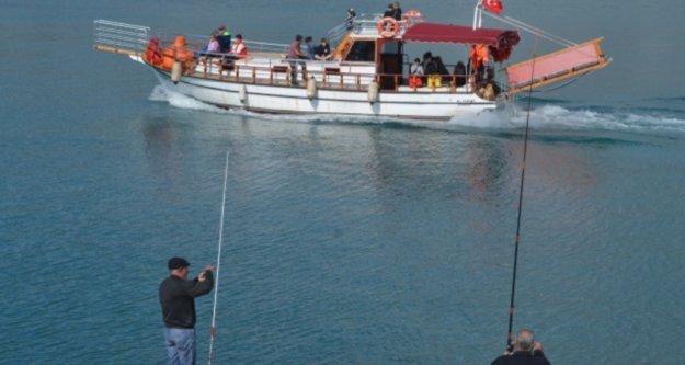 Dikkat! Alanya'da artık balık tutmak yasak