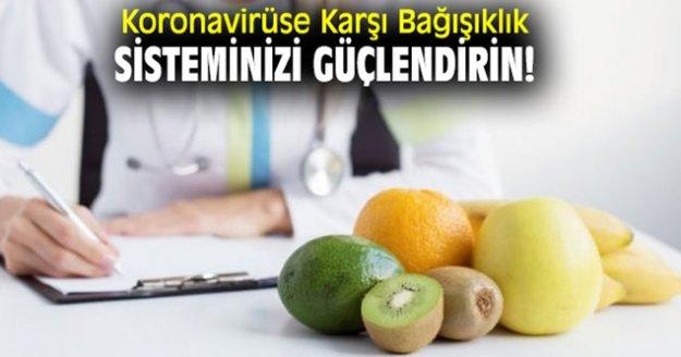 'Koronavirüse karşı çocuğunuzun bağışıklığını güçlendirin'