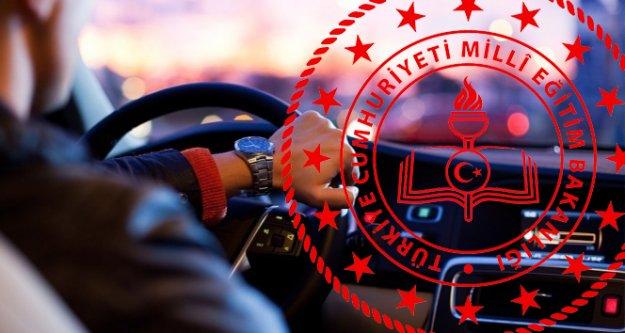 Sürücü kursu sınavları mart sonuna ertelendi!