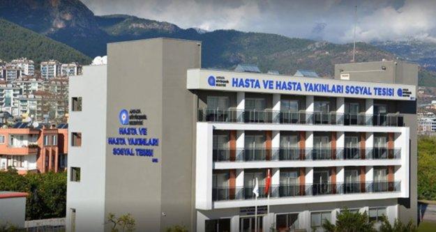 Alanya'daki 2 tesis sağlık personeline tahsis edildi