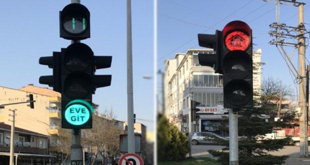 Alanya trafiğinde 'Eve Git, Evde Kal' dönemi