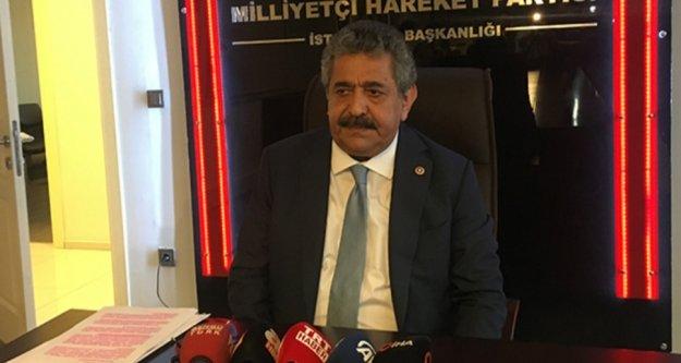 MHP Genel Başkan Yardımcısı korona virüs sebebiyle hastaneye kaldırıldı