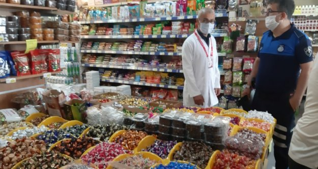 Alanya Belediyesi'nden marketlere bayram denetimi