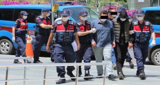Alanya'da 12 yayla evinden hırsızlığa 2 tutuklama