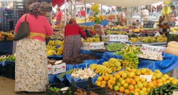 Alanya'da kurulan pazarların günleri değişti!
