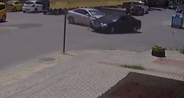 Alanya'daki kaza kameraya böyle yansıdı