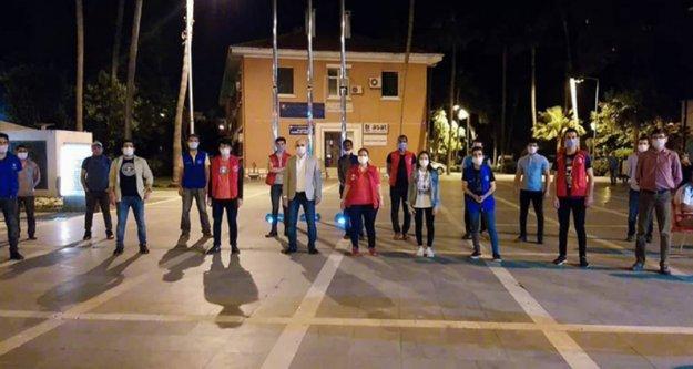 Alanya Gençlik Merkezi'nden Kızılay'a destek