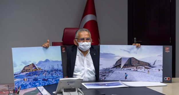 Alanyalı hayırsever otelciden Erciyes#039;e dev yatırım
