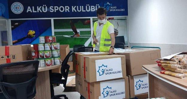 ALKÜ Spor Kulübü'nden ihtiyaç sahiplerine destek