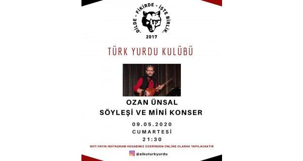 ALKÜ Türk Yurdu'ndan davet var