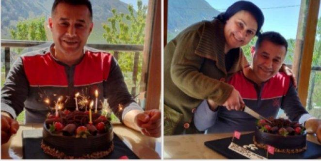 Başkan Yücel#039;e yaylada doğum günü sürprizi