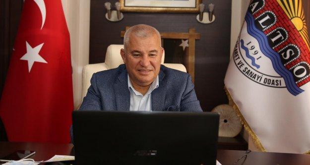 Şahin büyükelçiye Alanya'yı anlattı