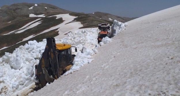 Yer: Antalya, Kar kalınlığı: 4.5 metre