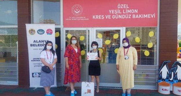 Alanya Belediyesi'nden salgına karşı mücadele çalışması