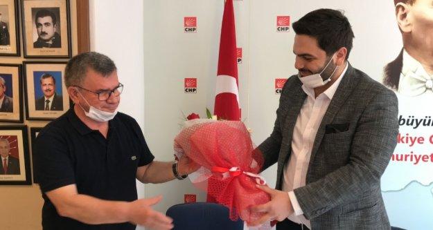 Alanya CHP'den Gelecek Partisi'ne destek