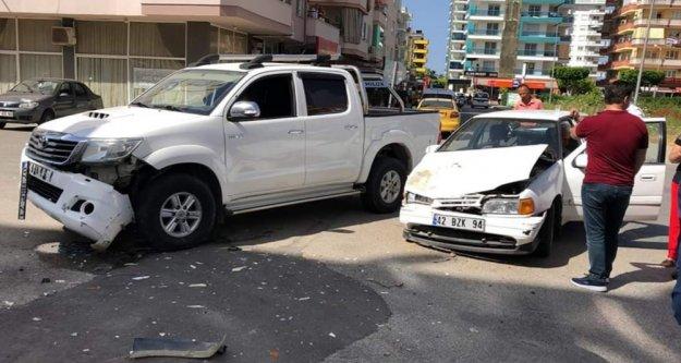 Alanya'da kaza: 3 yaralı var