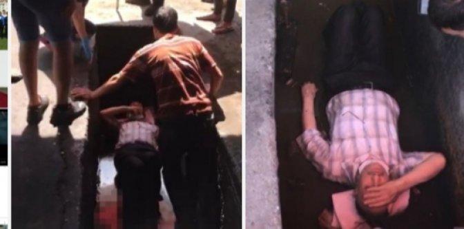 Alanya'da yaşlı adam adres sormak için girdiği tamircide kanala düştü