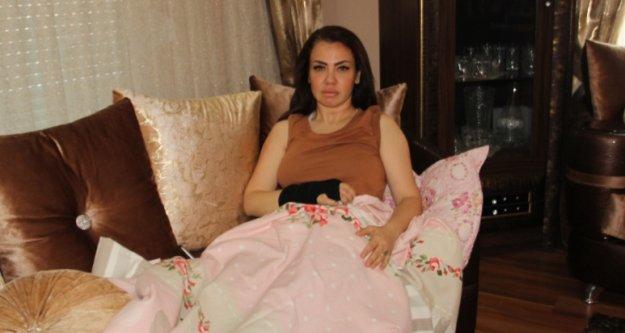 Alanya'daki kazadan şans eseri yaralı kurtulan şarkıcı Lara o anları anlattı
