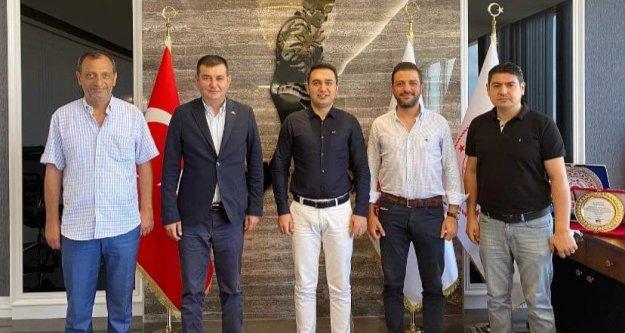 Alanya MHP'den Başsavcı Emre'ye teşekkür ziyareti
