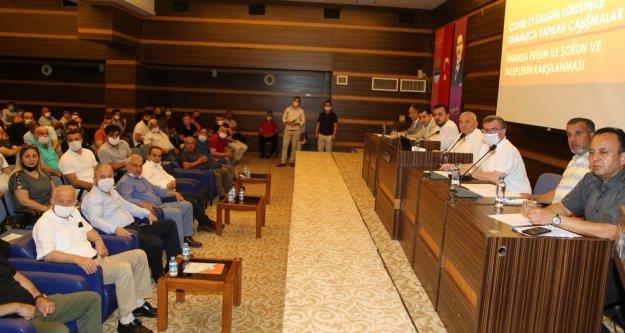 ALTSO Başkanı Şahin'den mülk sahiplerine örnek olacak hareket