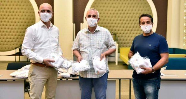 Antalya OSB'den fabrikalara siperlik ve maske