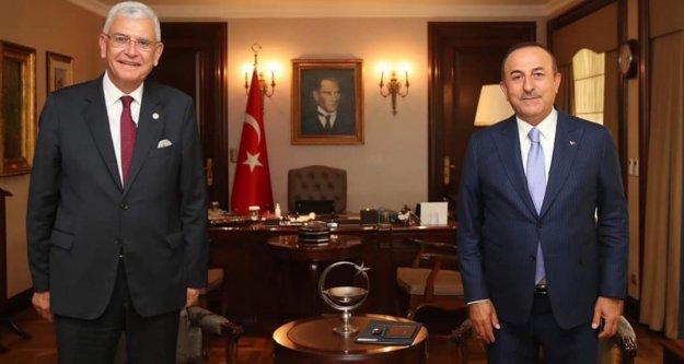 Bakan Çavuşoğlu BM Başkanı ile görüştü