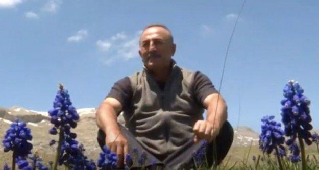Bakan Çavuşoğlu'ndan 'Ata Yurdum Söbüçimen' paylaşımı