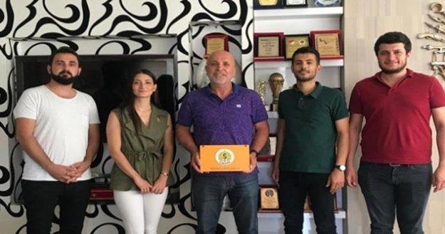 CHP'li gençlerden Başkan Çavuşoğlu'na destek