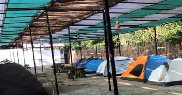 İzinsiz alanlara çadır ve kamp kuranlara 82 bin lira ceza