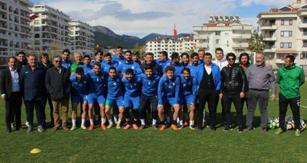 Kestelspor'dan Alanyaspor'a tam destek