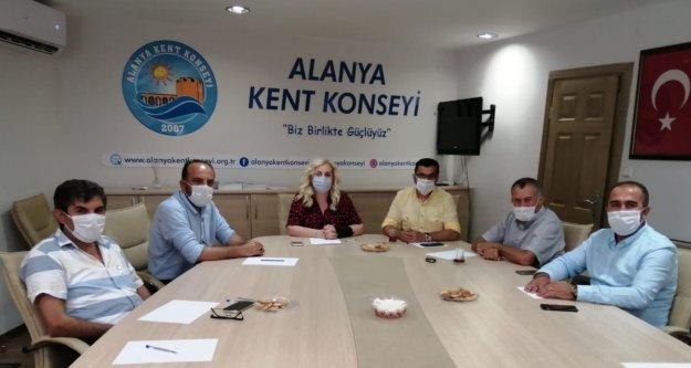 Korona süreci Alanya'dan geri göçü başlattı