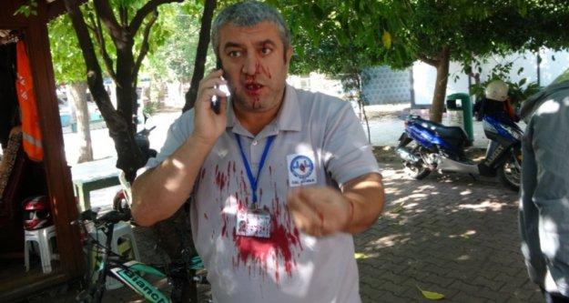 Maske uyarısı yapan güvenlik görevlisi bıçakladı