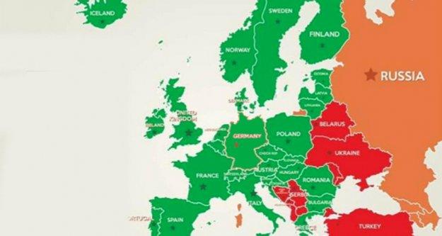 Schengen bölgesi 1 Temmuz'a kadar Türkiye'ye kapalı