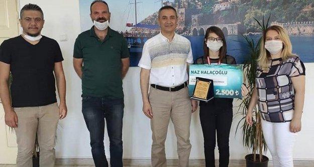 Türkiye birincisi Alanya BİLSEM'den