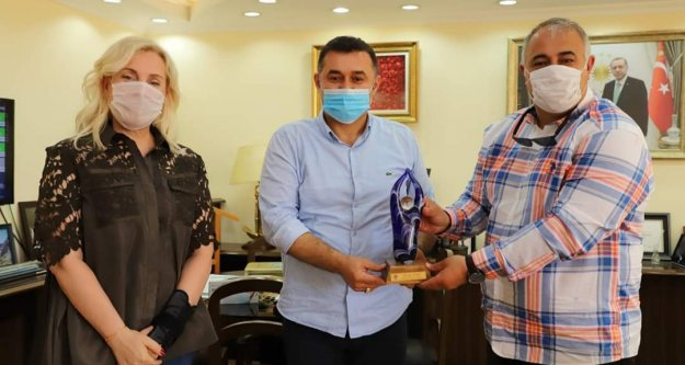 Türkiye Kent Konseyi başkanından Alanya'ya ziyaret