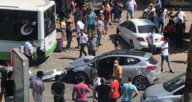 Alanya'da trafik kazası: 1 yaralı var