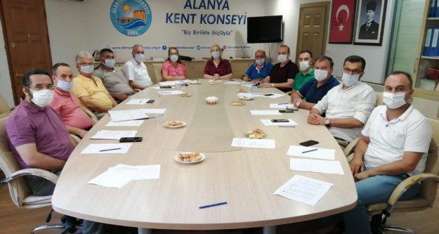 Alanya Kent Konseyi'nde gündem sıfır atık